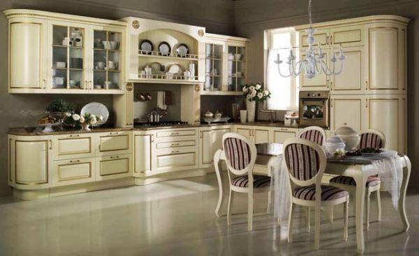 В любом мебельном магазине, можно купить готовый набор мебели для любой кухни, главное подобрать ее по нужным размерам.