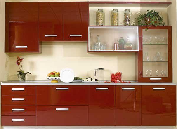Интересная и современная мебель для кухни, подходит для очень маленьких помещений. Здесь все достаточно просто и лаконично.