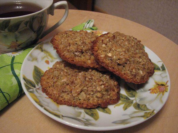 Овсяное печенье лучший рецепт