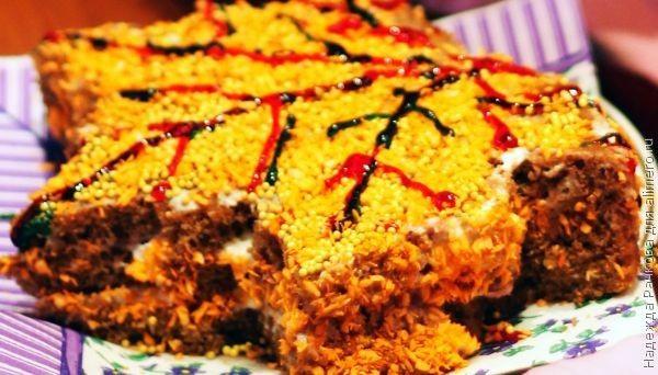 Торт без выпечки  за 5 минут
