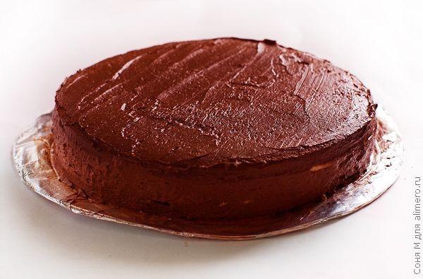 Торт Шоколадная нежность