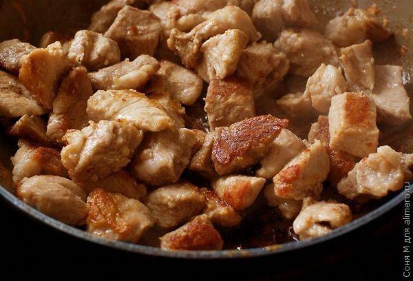 Свинина, тушеная с картофелем