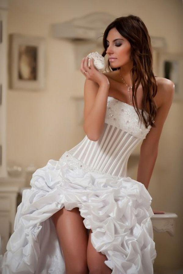 Короткие свадебные платья 2011 фото / Мода и стиль