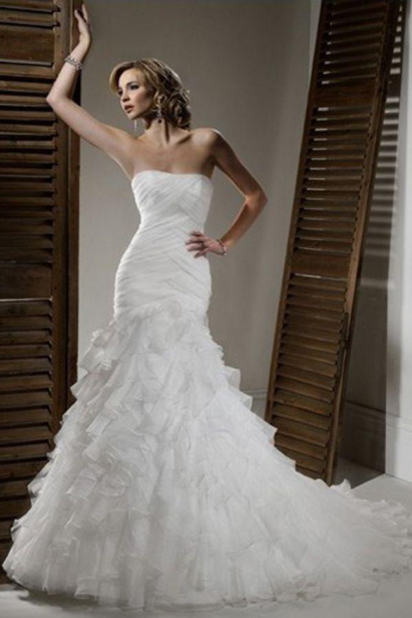 Свадебные платья русалка / Мода и стиль