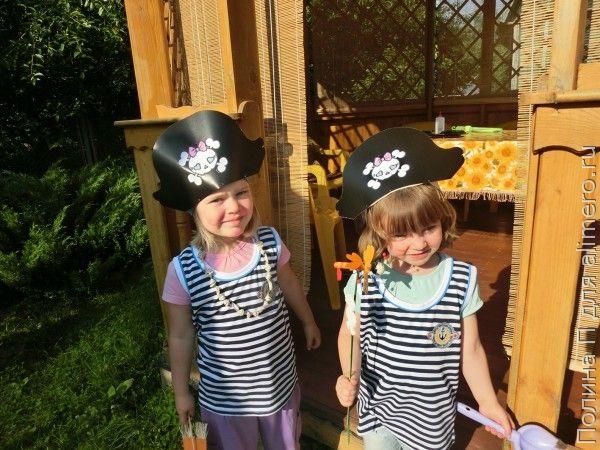 Пиратский день рождения для детей