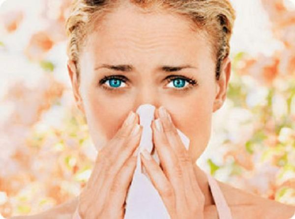 аллергия около