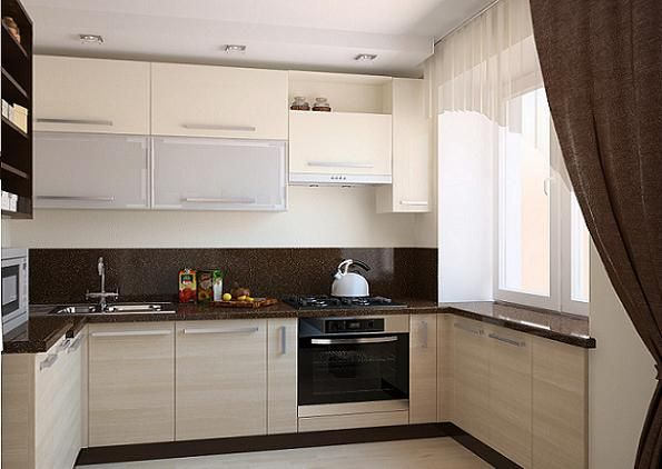 Кухни светлого цвета фото