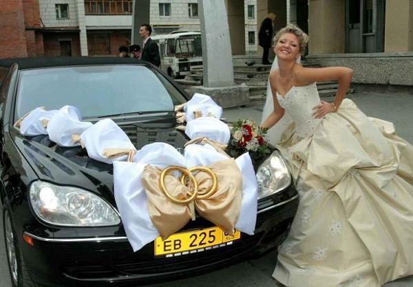 Свадебная машина своими руками фото