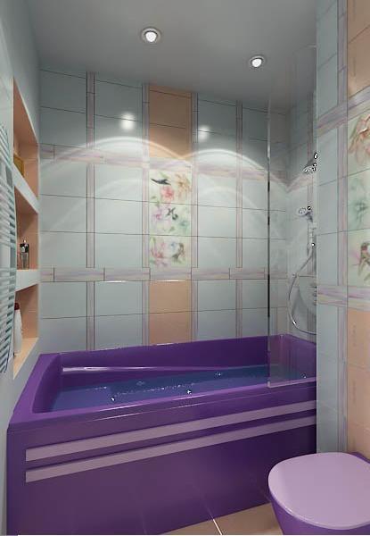 Это не то что маленькая ванная а