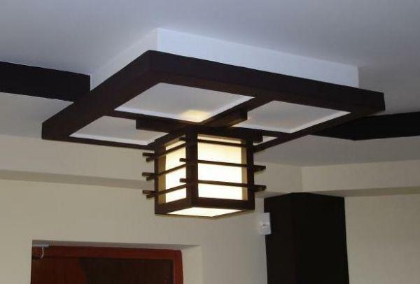Японские светильники своими руками фото