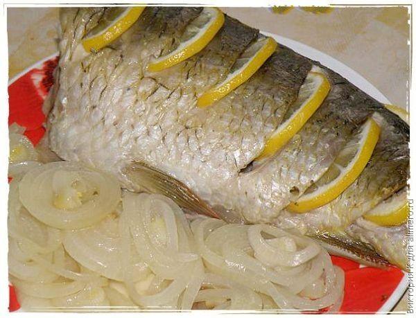 рецепт карпа в духовке в рукаве с картошкой рецепт