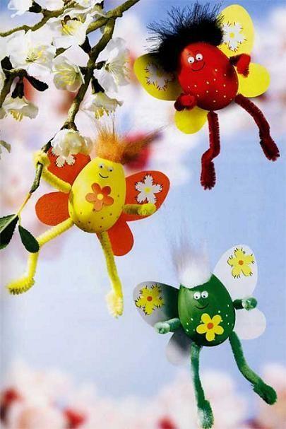 Немного фантазии и такие необычные бабочки будут летать в вашем саду и радовать глаз приходящим гостям.