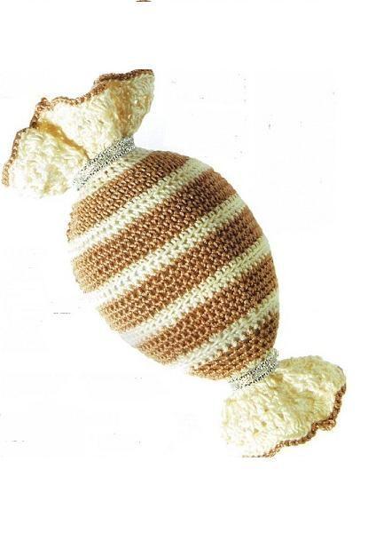 Это больше для деток и сладкоежек, хотя такую конфетку можно использовать в качестве украшения для праздничного стола.