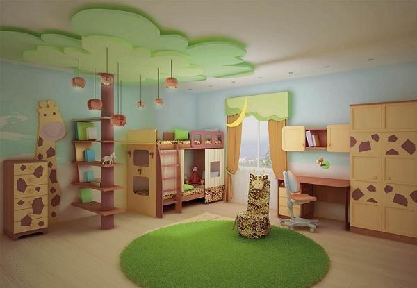 Дизайн детской комнаты для двух мальчиков фото идеи