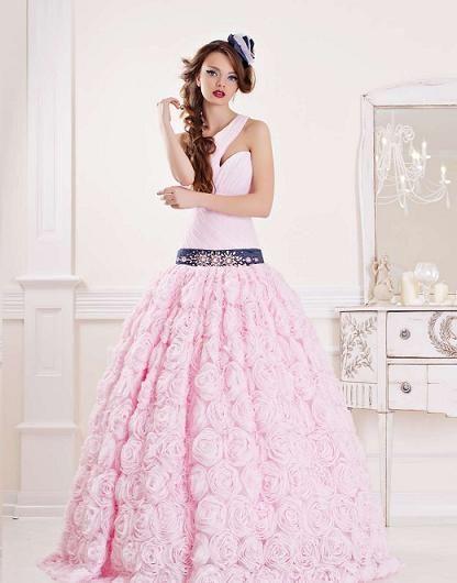 Цветные свадебные платья фото / О свадьбе
