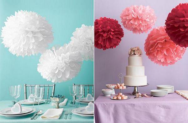 Цветы могут быть не только детской поделкой, а еще и украшением для интерьера. Правда, стараться придется больше.