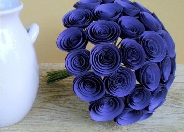 Как быстро сделать цветы из бумаги своими руками