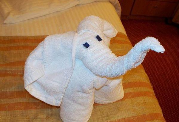 Как из полотенца сделать собачку