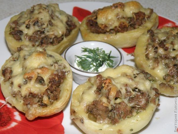 Фаршированый картофель