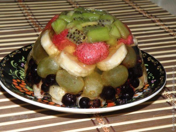 салат в желатине рецепт с фото