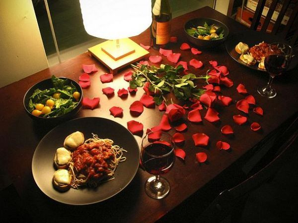 Романтический сюрприз для любимого своими руками