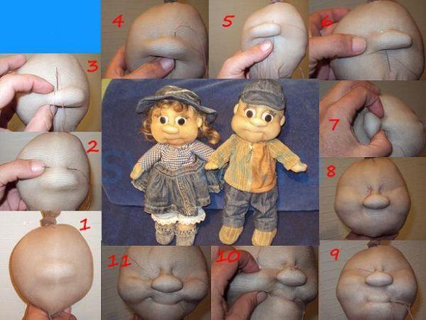 Куклы своими руками для начинающих из колготок