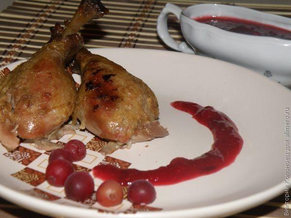 Курица с клюквенным соусом рецепт пошагово 6
