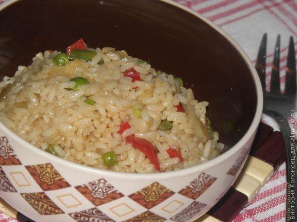 Запечённая курица с рисом и овощами рецепт с фото пошаговый