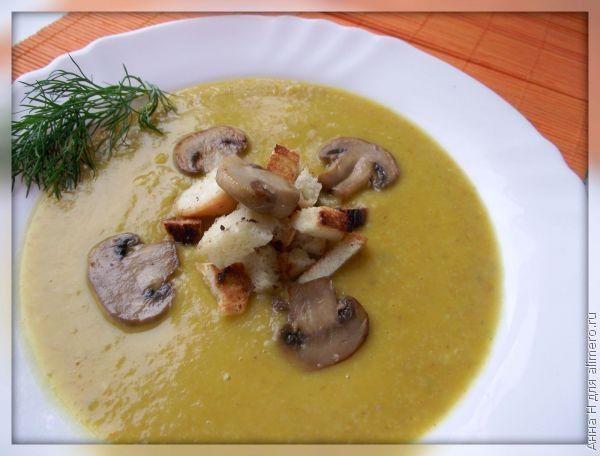 рецепты супов из лесных грибов