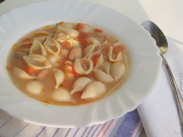 куриный суп с фасолью рецепты