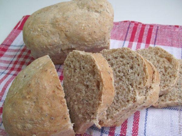 Порционный хлеб с кунжутом и маком