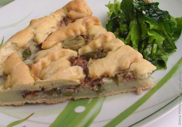 Пирог из мяса и картошки рецепт с пошагово