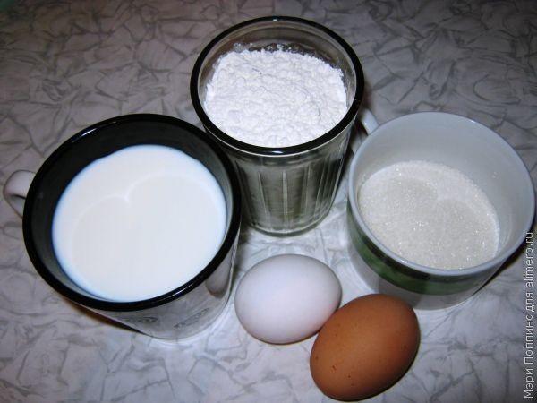 Как сделать блин без молока 71