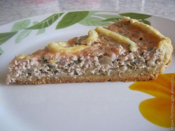 пирог из песочного теста с фаршем рецепт с фото