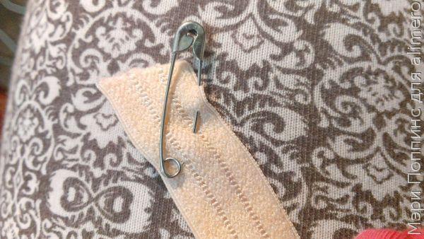 МК Меняем резинку в штанишках