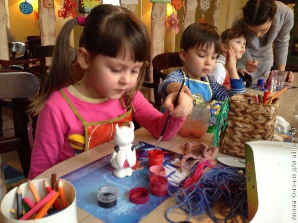 Любовь детей к творчеству
