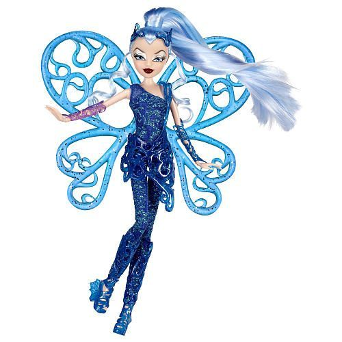 Айси - фея льда. Эта ведьма появилась у нас еще в прошлом году, но в магазинах нашей страны так и не продается до сих пор. Стоит не дороже обычной куклы - 20 долларов.
