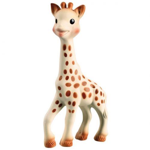 Жираф Софи - это не просто прорезыватель из экологически чистого каучука. Для многих детей это милое животное становится любимой игрушкой на месяцы, а то и годы. Популярность Софи прямопропорциональна стоимости.