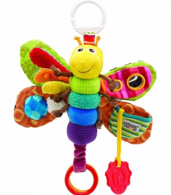 Подвесные игрушки хороши тем, что их не нужно постоянно поднимать с земли. Да и закрепить их можно где угодно - на коляске, в кроватке, шезлонге или автокресле.