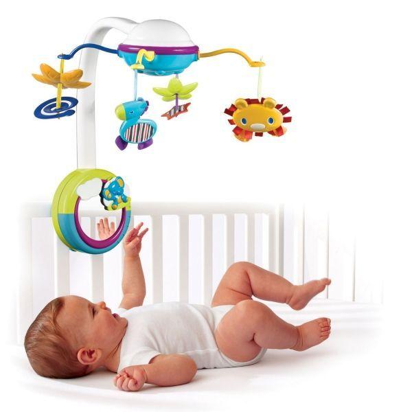 Мобиль на детскую кроватку - для отвлечения, успокоения и развлечения самых маленьких. Многие модели оснащены функцией проектора и музыкального проигрывателя.