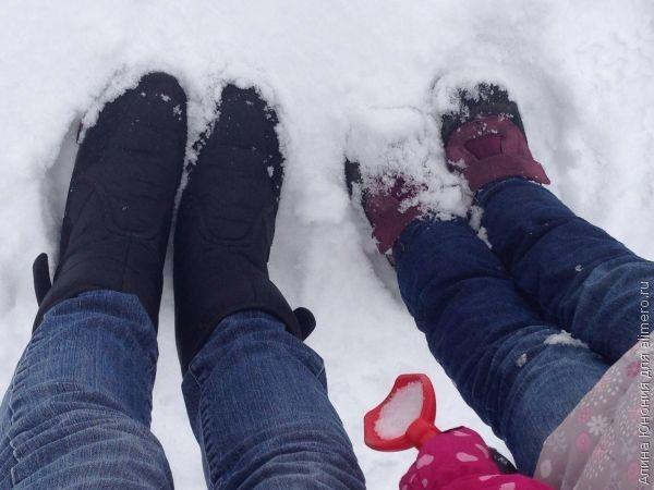 Как я ухаживаю за обувью зимой