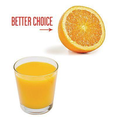 О пользе апельсинового сока знают все. Но не все знают о том, что лучше съесть апельсин, ведь в соке практически нет клетчатки, которая так важна для жкт. Речь, конечно же, о свежевыжатых соках, а не пакетах.