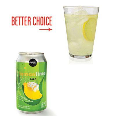 Сладкую газировку заменяйте обычной газированной минеральной водой, в которую для вкуса можно добавить дольки лимона. Постепенно можно перейти на негазированную воду, а вот лимон лучше оставить.