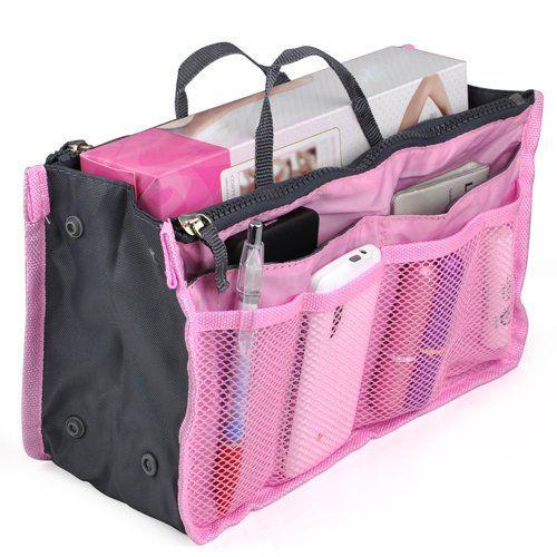 """Органайзер для сумочки. Это отличная штука для тех женщин, которые любят часто менять сумочки. Ведь с его помощью можно переместить все содержимое """"легким движением руки""""."""