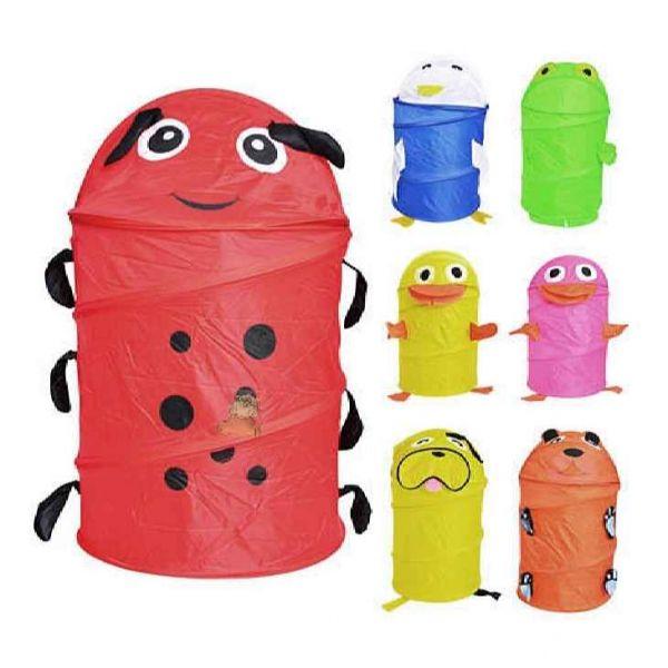 Корзина для хранения детских игрушек, наверное, больше порадует маму, чем малыша. Что ж, к порядку детей надо приучать с самого раннего возраста.