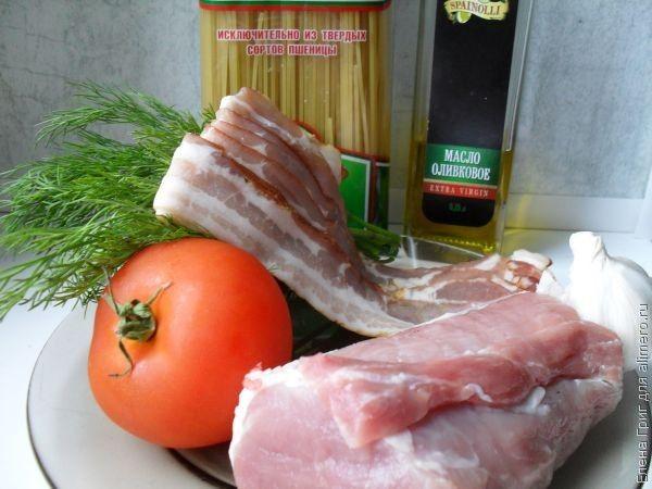 томатная паста с мясом рецепт