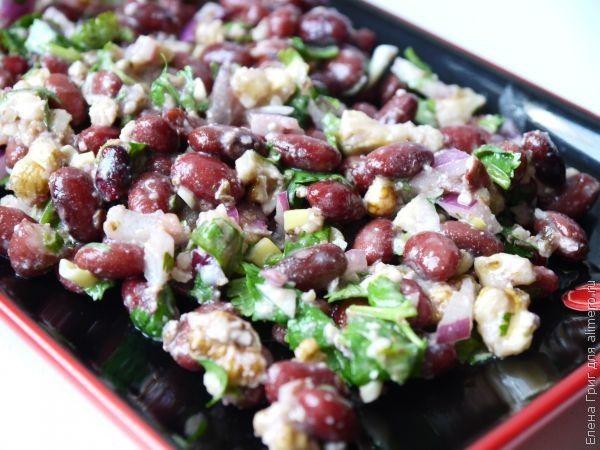 блюда из красной фасоли и мяса рецепты с фото