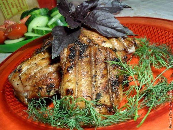 шашлык из мяса индейки рецепт