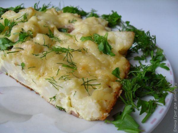 Мясо в духовке под сыром рецепт