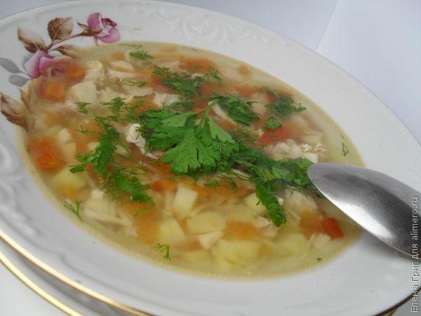 суп из индейки с вермишелью рецепты с фото